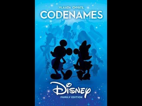 Dad vs Daughter - Codenames: Disney Family Edition