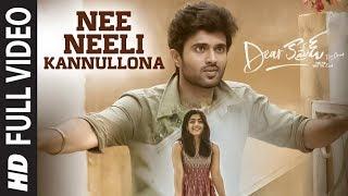 Nee Neeli Kannullona Full Video | Dear Comrade Telugu | Vijay Deverakonda, Rashmika |Bharat Kamma