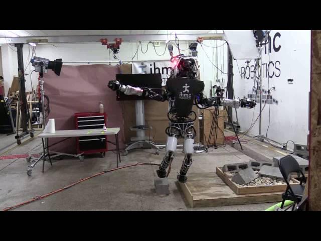 Робот Atlas научился балансировать наодной ноге