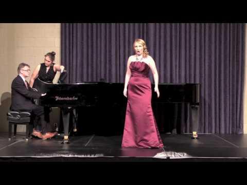Piangerò la sorte mia from Handel's Giulio Cesare (Senior Recital, Simpson College, Spring 2017)