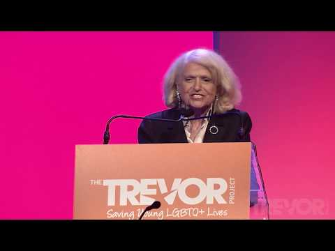 TrevorLIVE 2017 NY: Edie Windsor Acceptance Speech for the 2017 Icon Award