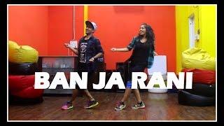 Ban Ja Rani song dance choreography Guru Randhawa | Tumhari Sulu | Vicky & Aakanksha