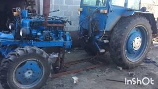 Ремонт сцепление при помощи рамки. Раскол трактора Т-40 АМ
