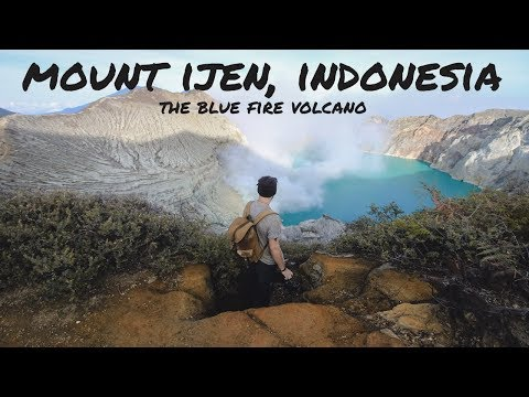 Mount Ijen, Indonesia | The Blue Fire Volcano