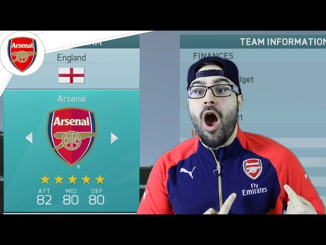 My Best Fifa 16 Arsenal world cup mode first impressions draft