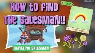 How to find the SALESMAN in AJPW | TG