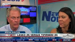 LESKO VERSUS TIPIRNENI: Steve Krafft & Pilar Arias discuss special election (FNN)