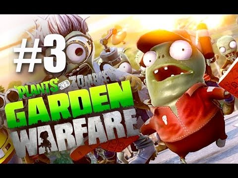 РЕВИЗОР! ЗАХВАТ! #3 Plants vs Zombies: Garden Warfare (HD) играем первыми
