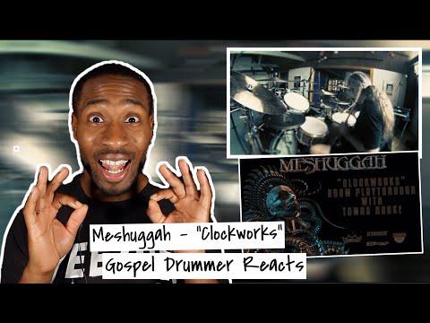 "Gospel Drummer REACTS to MESHUGGAH ""Clockworks"" (DRUM PLAYTHROUGH w/ TOMAS HAAKE)"