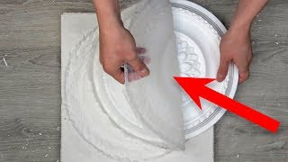 Как сделать форму из силикона для гипса