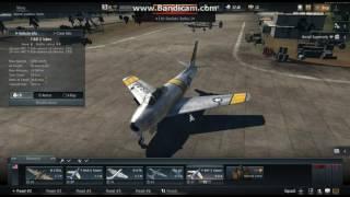 War thunder thai รีวิวF86 Sabre F2 (แคสเกมส์ครั้งแแรก)Part1