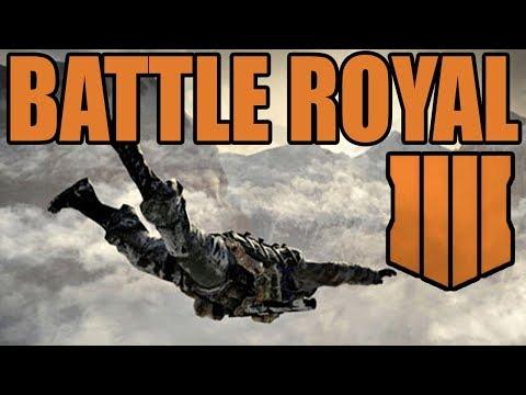 Black Ops 4: BATTLE ROYALE MODE (Call of Duty BO4)