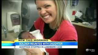 Father Terry Achane reunited with daughter illegally adopted out by wife & Adoption Center of Choice