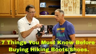 7 Things You Must Know Before Buying Hiking Boot/Shoes + Bear Protection Advice