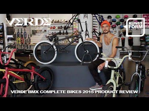 Verde bikes 2015 BMX bikes review   with english subtitles