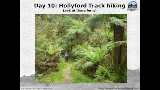 preview picture of video 'New Zealand Walking Tour with New Zealand Trails   Spring 2013'
