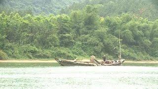 Quảng Bình bất cập trong quản lý khai thác cát trên sông Long Đại