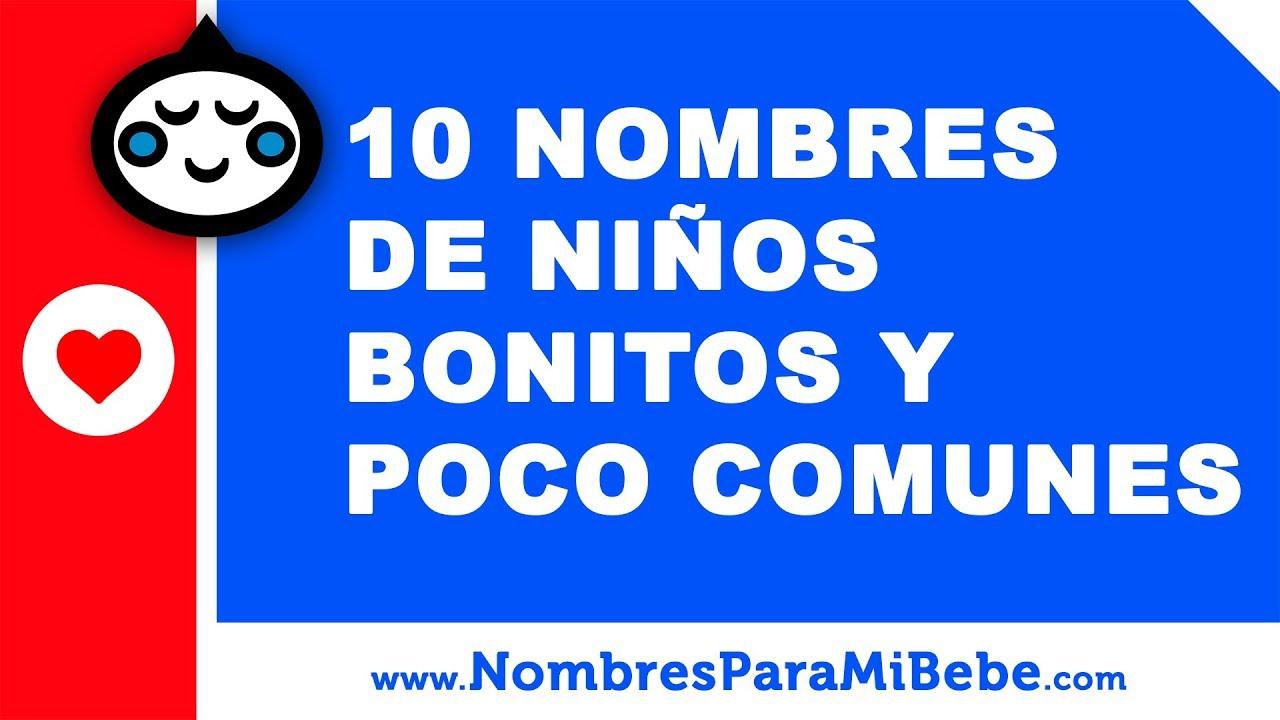 10 nombres de niños bonitos y poco comunes - los mejores nombres de bebé - www.nombresparamibebe.com