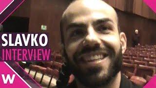 Slavko Kalezić talks X Factor UK and Eurovision @ SunStroke Project & Friends concert in Moldova
