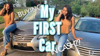 Buying My First Car At 17 Vlog | Rubena Galore