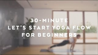 'Let's Start Yoga' Flow for Beginners with Jessica Olie - Alo Yoga