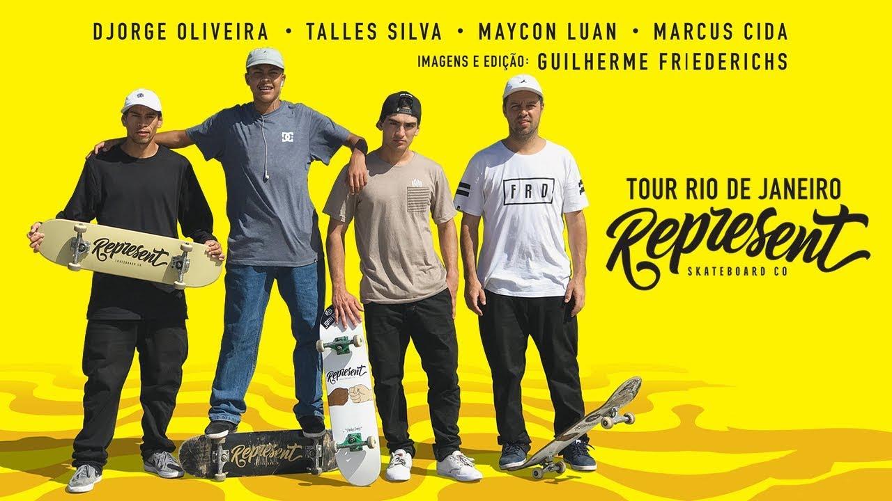 Represent - Tour Rio de Janeiro - sobreskate