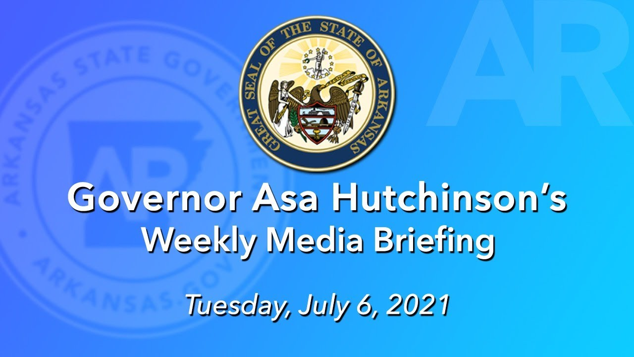 LIVE: Governor Hutchinson Provides Weekly Media Update (07.06.21)