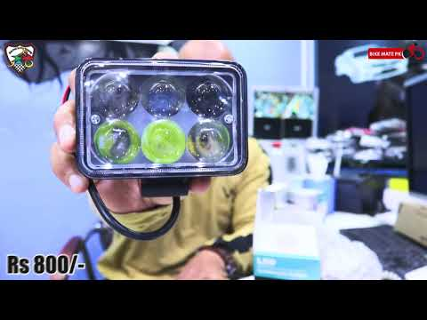 MOTORCYCLE HEADLIGHTS LED'S Part 02 | BIKE MATE PK
