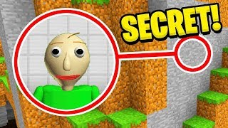 Minecraft ITA - ABBIAMO SCOPERTO LA BASE SEGRETA DI BALDI!!