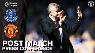 Post Match Press Conference   Everton 4-0 Manchester United   Ole Gunnar Solskjaer