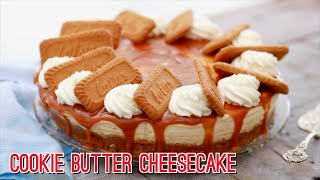 No-Bake Cookie Butter Cheesecake - Gemma's Bigger Bolder Baking Ep 176