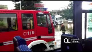 Altamura, auto in panne in via Gravina. Bus FAL fermo un