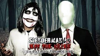 Slenderman VS Jeff the Killer. La Batalla Final de Rap (Especial Halloween) | Keyblade