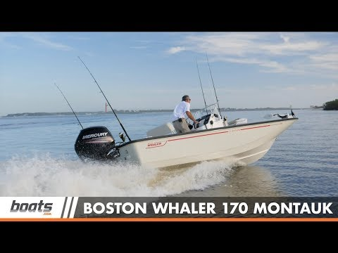 Boston Whaler 170 Montauk video