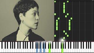 Palomas Blancas - Natalia Lafourcade PIANO TUTORIAL