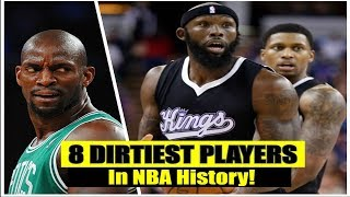 The Best 8 Dirtiest Players In The NBA History Today