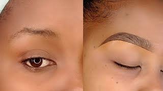 DETAILED UPDATED EYEBROW TUTORIAL