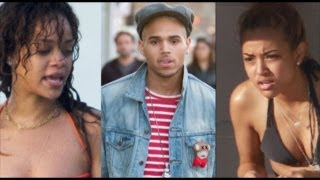 Rihanna & Karrueche Tran fight over Chris Brown