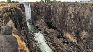 Victoria Falls hit by severe drought