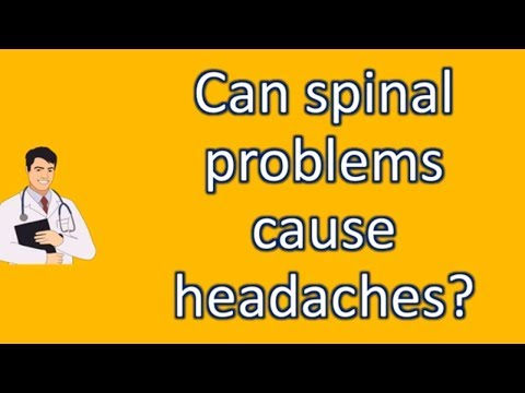 Can spinal problems cause headaches ? | Most Rated Health FAQ Channel