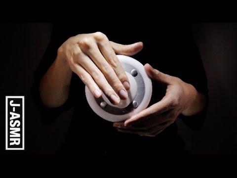 [音フェチ]耳マッサージ - Ear massage with cream(3dio)[ASMR]