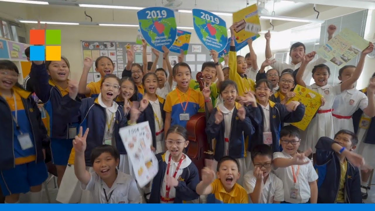 Microsoft Global Learning Connection travels over 29 million virtual miles powered by Teams, Skype and Flipgrid, teaching empathy and kindness to students worldwide