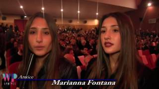 Intervista a Marianna e Angela Fontana - Giornate Professionali di Cinema 2016