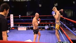 Κ-1 WORLD MAX 2012 - Mike Zambidis Vs Reece Mcallister