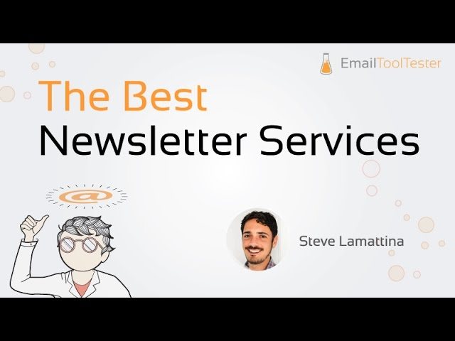 Best Email Marketing Services 2019 - Compare the 12 Best