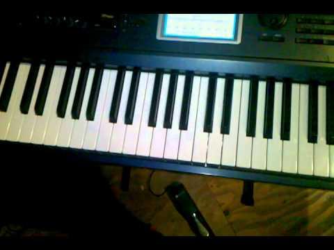 piano part for I Am Free/Freedom (guy key)