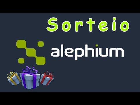Sorteio em $ Dólares na Alephium , Paga em julho MUTO FÁCIL !