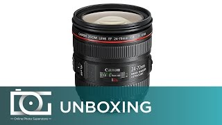 UNBOXING REVIEW | CANON EF 24-70mm f/4L IS USM Standard Zoom Lens