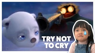 Try Not to Cry Challenge - SADDEST Animated Short Film | Lauryn's World