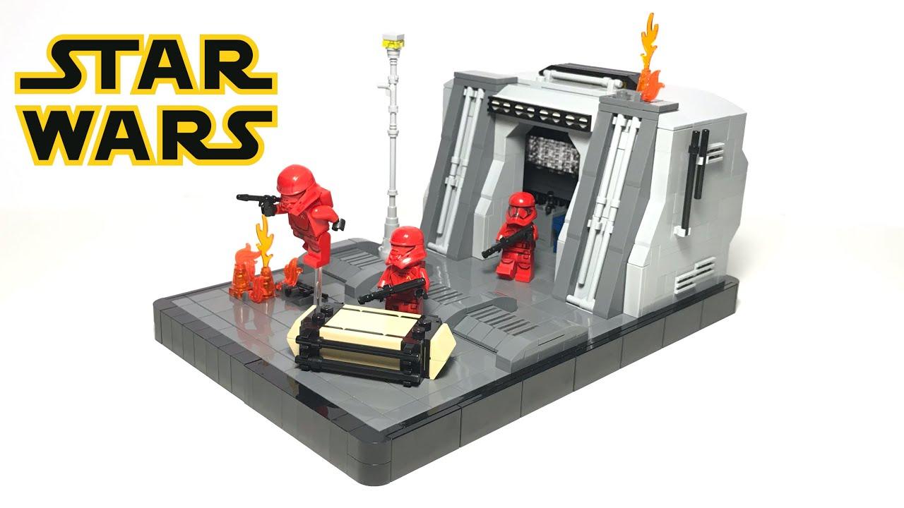 Lego Star Wars Sith Trooper Battle MOC // Episode 9
